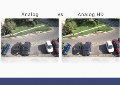 Porównanie jakości obrazu Analog vs HD